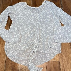 Everly Large Tie Blouse